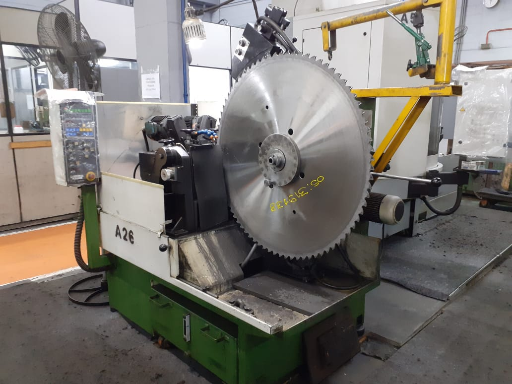 Vollmer carbide side grinding machine