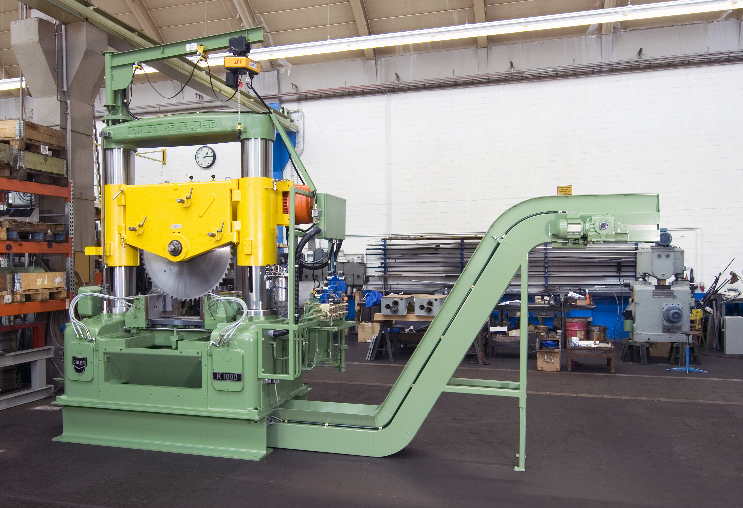 Ohler circular sawing machine